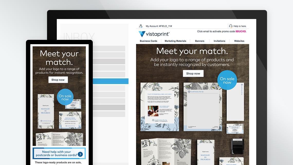 Twicetheory creative projects vistaprint email marketing vistaprint reheart Gallery